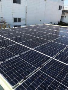 簑田製作所 自家消費型太陽光発電