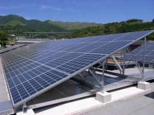 自家消費型太陽光発電の写真